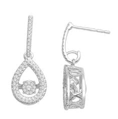 14kt Dancing Diamonds Earrings