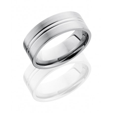 8mm Titanium Wedding Band