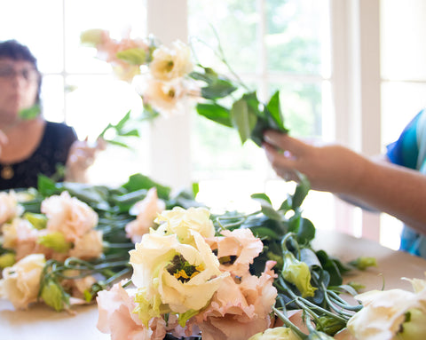 "Announcing New Blooms & Bliss ""Basics of Floral Design"" classes at Harper College!  April 2019"