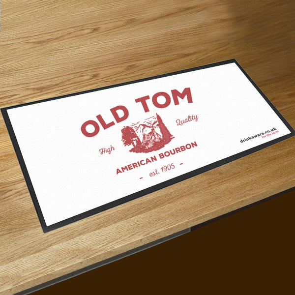Personalised bar runner / bar mat for pubs, bars, clubs and any establishment