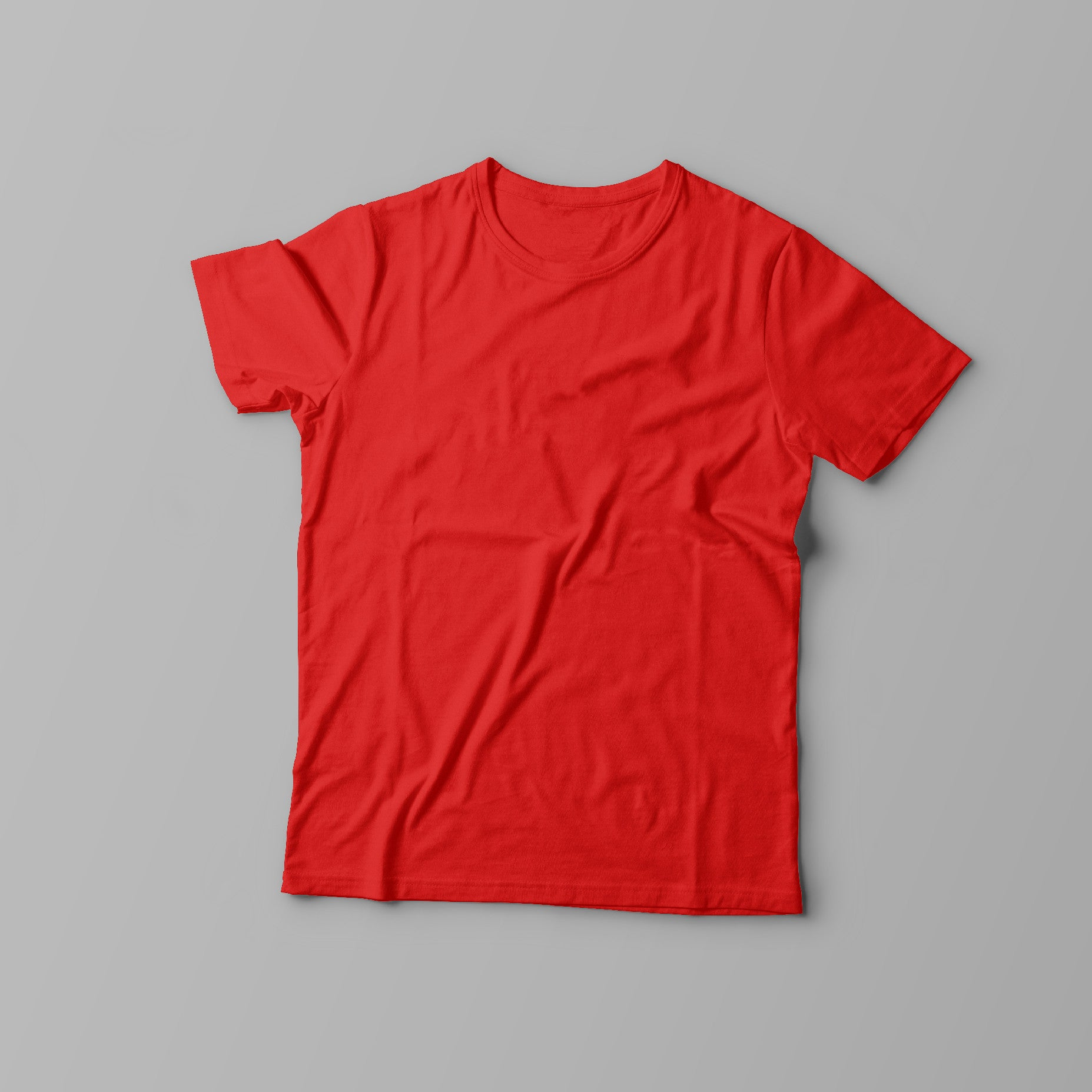 Creative Personalised Printed Designed Red T-shirts Print Your Logo, Artwork, Photos Or Designs Perfect for a Birthday, Christmas Gift For The Home, Kitchen, Living Room, Bedroom, Office, Businesses, Restaurants, Pubs, Cafes, Bars And Parties Perfect Gift For Adults And Children