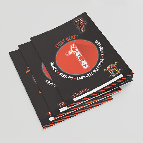 Booklet printing in a range of styles, finishes and papers