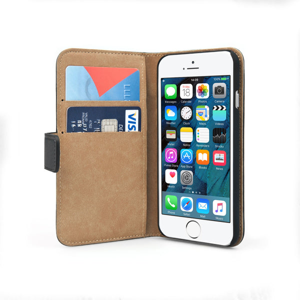 Creative Design Personalised Faux Leather Phone Case / Phone cover & wallet For iPhone and Samsung Galaxy || Inside view