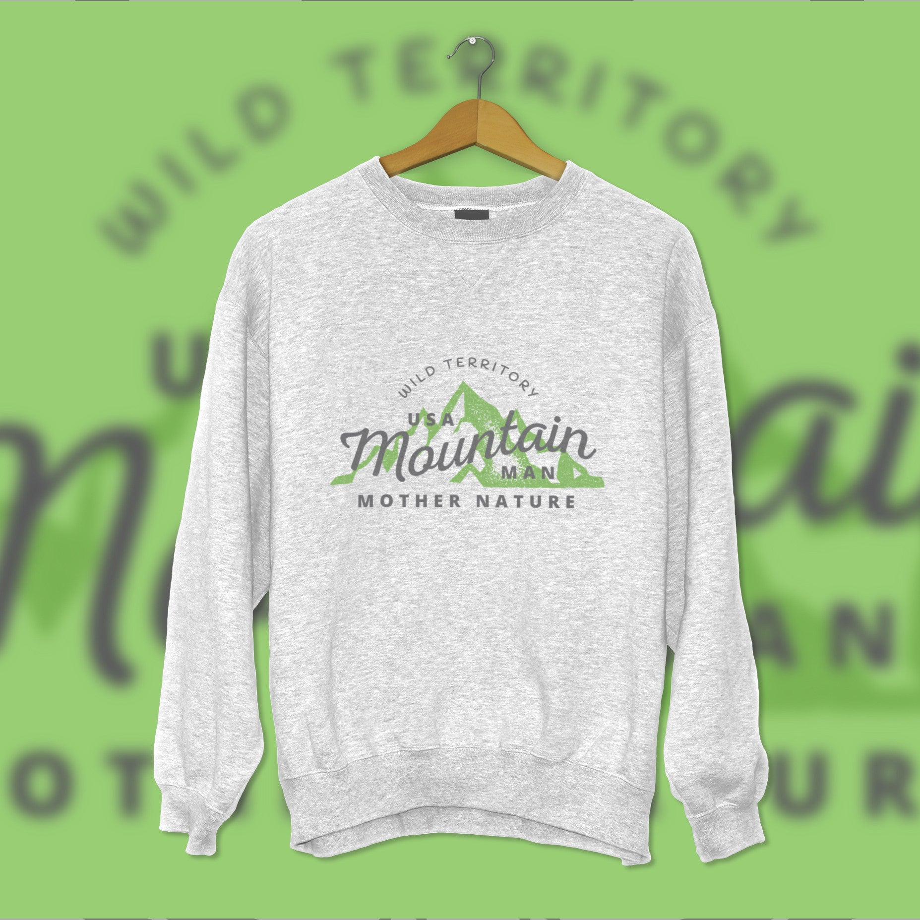 Creative Personalised Printed Designed White Sweatshirts Print Your Logo, Artwork, Photos Or Designs Perfect for a Birthday, Christmas Gift For The Home, Kitchen, Living Room, Bedroom, Office, Businesses, Restaurants, Pubs, Cafes, Bars And Parties Perfect Gift For Adults And Children