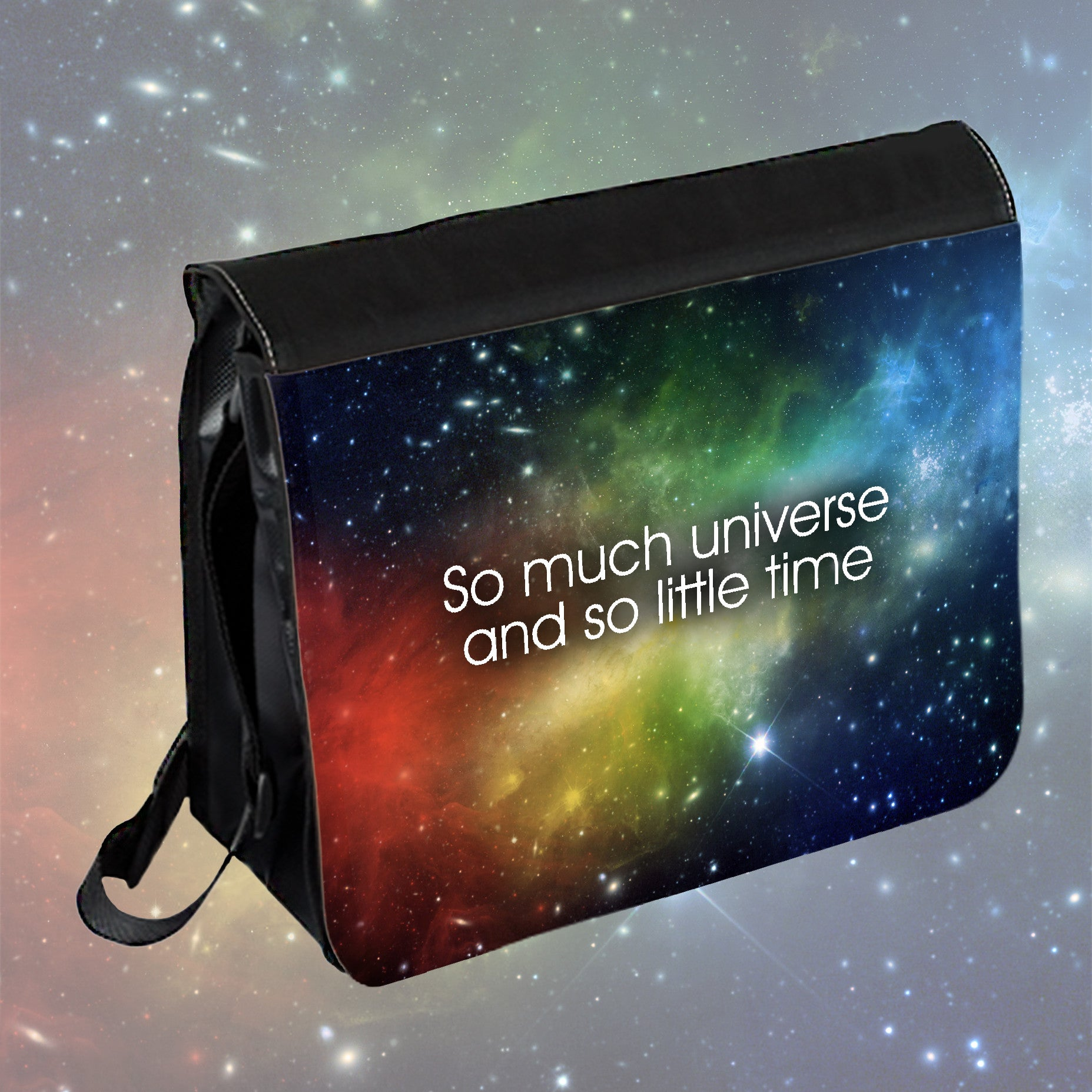 Creative Designed Personalised Design On Front Of Messenger Bag For Kids And Adults For School, Work, Leisure Activities, Travel And Mettings
