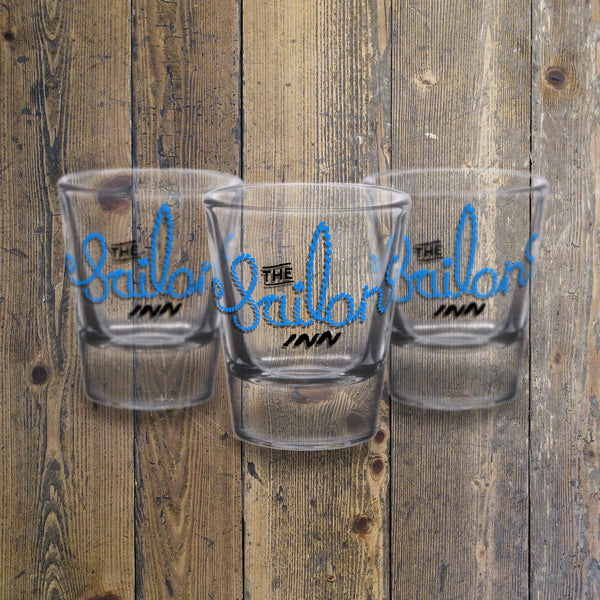 Creative Personalised Printed Designed Glass Shot Glasses Print Your Logo, Artwork, Photos Or Designs Perfect for a Birthday, Christmas Gift For The Home, Kitchen, Living Room, Office, Businesses, Restaurants, Pubs, Cafes, Bars And Parties