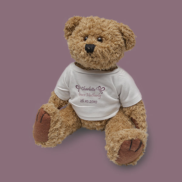 Creative Personalised Printed Designed Soft Teddy Bear Toy Print Your Logo, Artwork, Photos Or Designs Perfect for a Birthday, Christmas Gift For The Home, Kitchen, Living Room, Bedroom, Office, Businesses, Restaurants, Pubs, Cafes, Bars And Parties Perfect Gift For Adults And Children