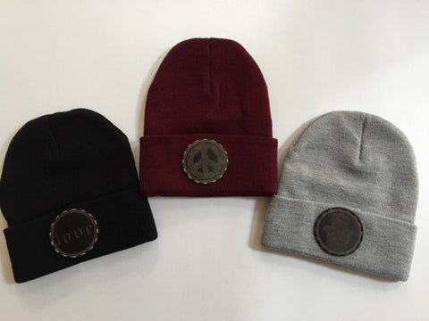 Choice of either love, hamsa or peace sign beanie hat