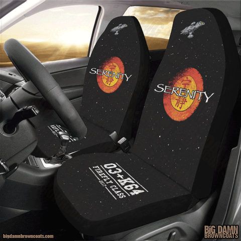 Serenity Car Seat Covers (Set of 2)