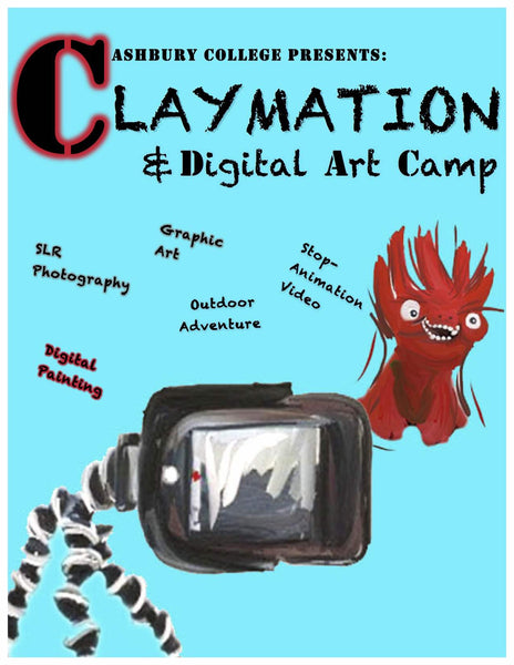 Claymation & Digital Arts Camp: July 4-7, 2017