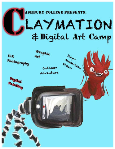 Claymation & Digital Arts Camp: July 9-13, 2018
