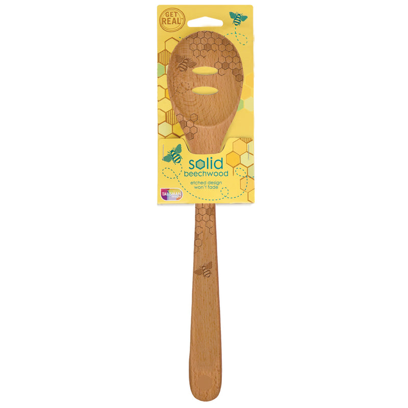 Honey Bee Slotted Spoon
