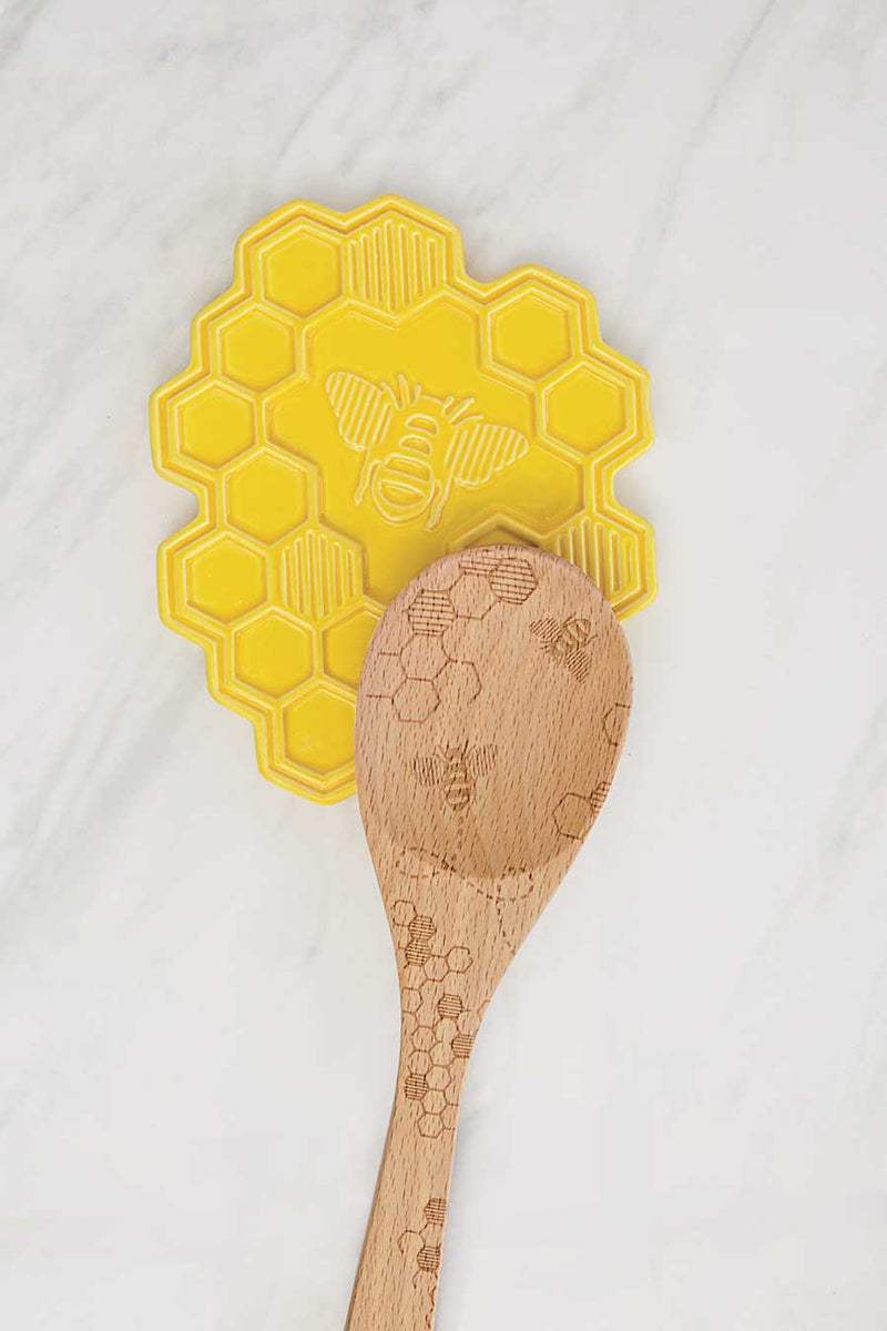 Ceramic Spoon Rest - Bee