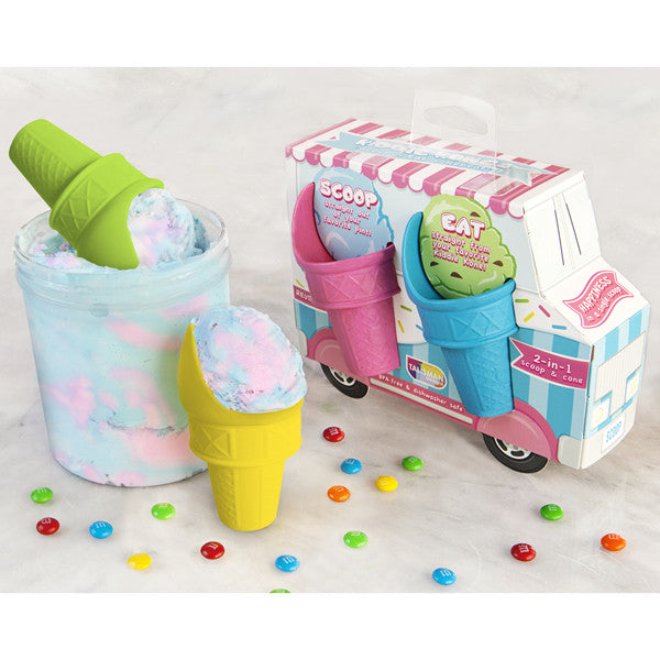 Kiddie Kones™ Ice Cream Scoops Set of 4