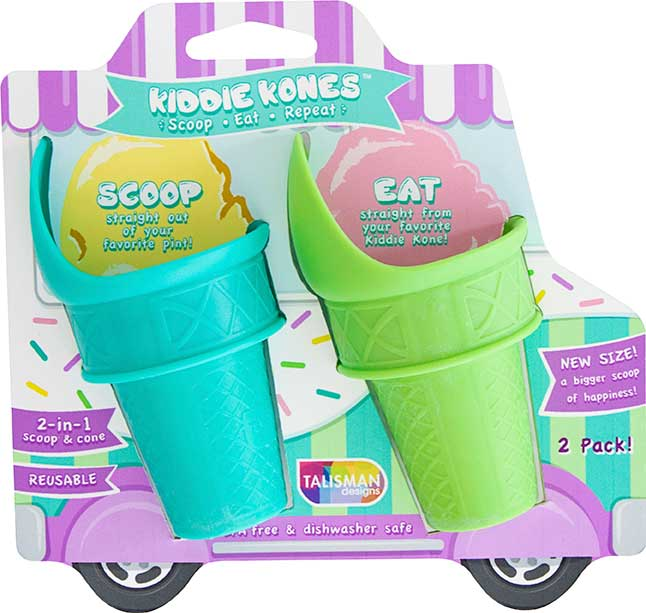 Kiddie Kones™ Large Ice Cream Scoops Set of 2