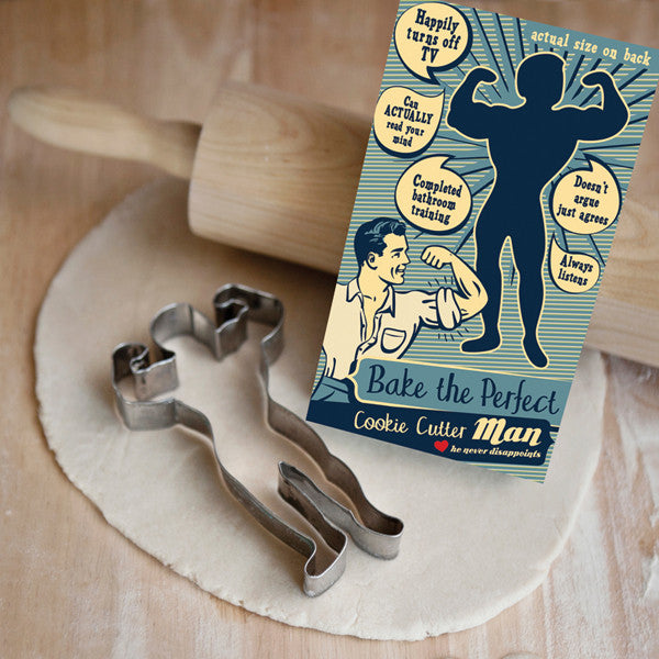 Perfect Man Cookie Cutter