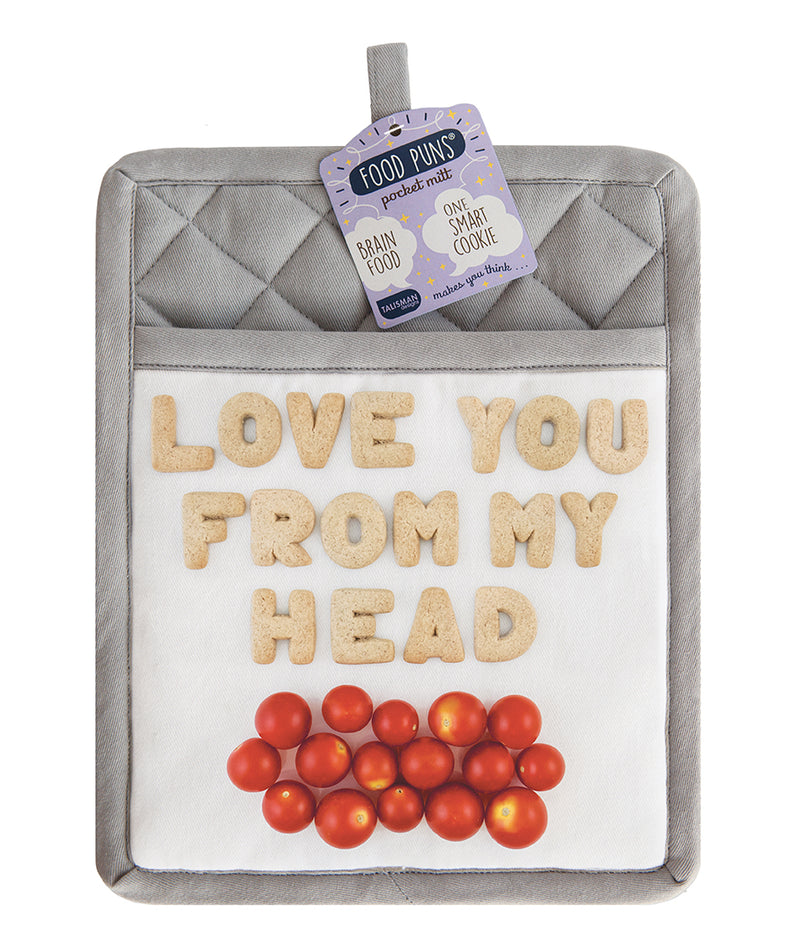 Food Puns Pocket Mitt Tomatoes