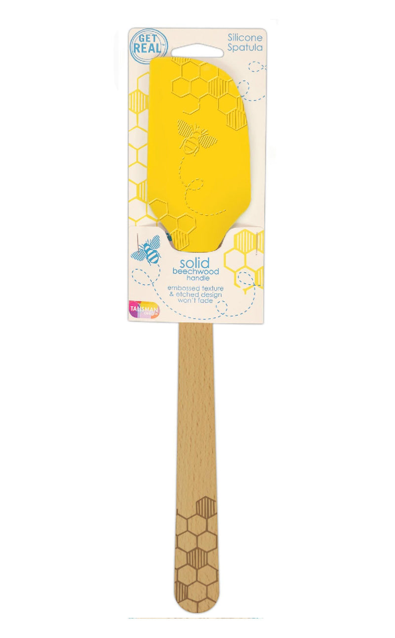 Honey Bee Silicone Spatula