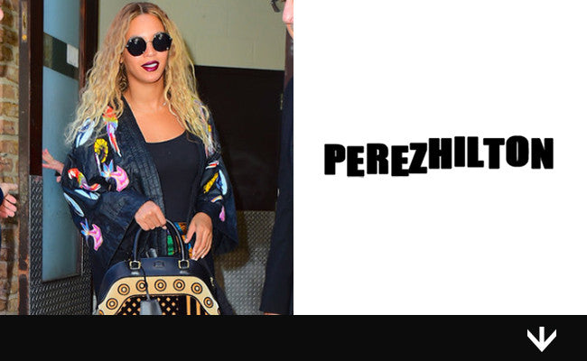 This is What Happens When Beyonce Wears a Kimono & Sunglasses