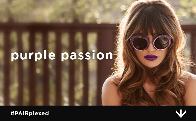 How to Find Your Perfect Shade of Purple Sunglasses