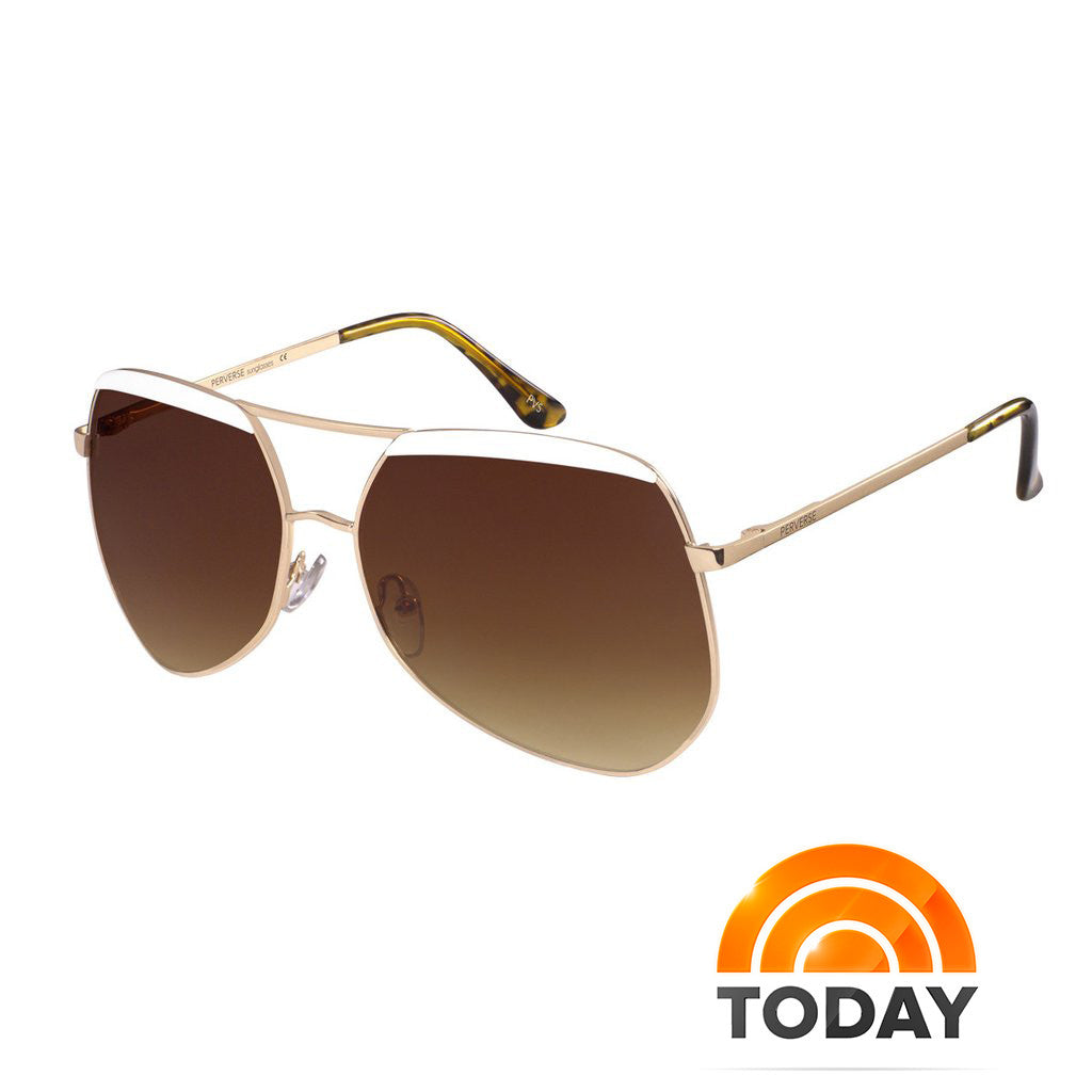 As Seen on Today's Take: PERVERSE Sunnies Complete a Beachside Look That Stands Up to the Sun and Stiff Prices