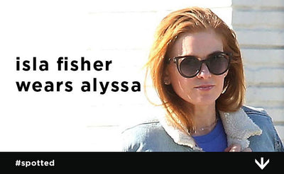 Isla Fisher Spotted Looking Glam in Alyssa