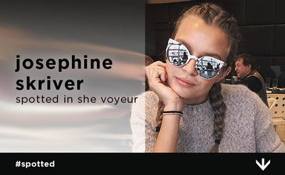 Josephine Skriver Can't Get Enough of these Sunglasses