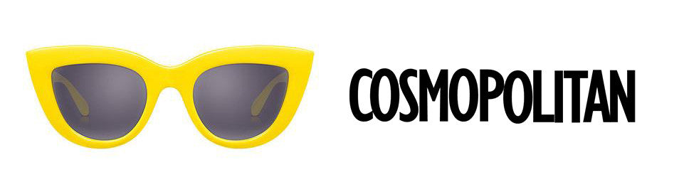 As Seen in Cosmopolitan: Colorful Cat-Eye Sunnies Are a Fun, Fearless Find Under $50