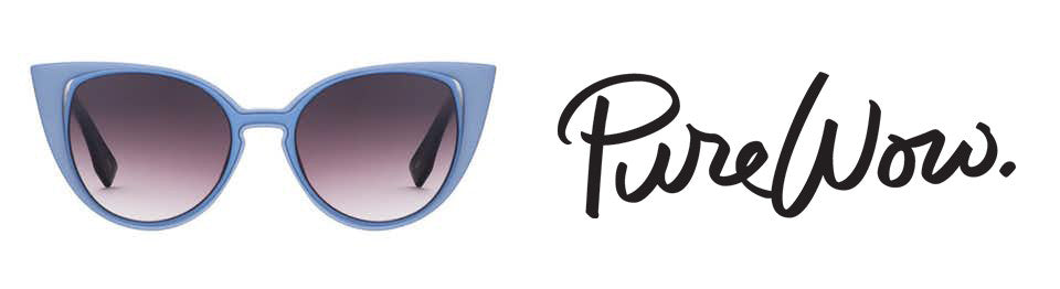 As Seen in PureWow: PERVERSE Sunglasses Will Give You the Eyewear Makeover You Deserve