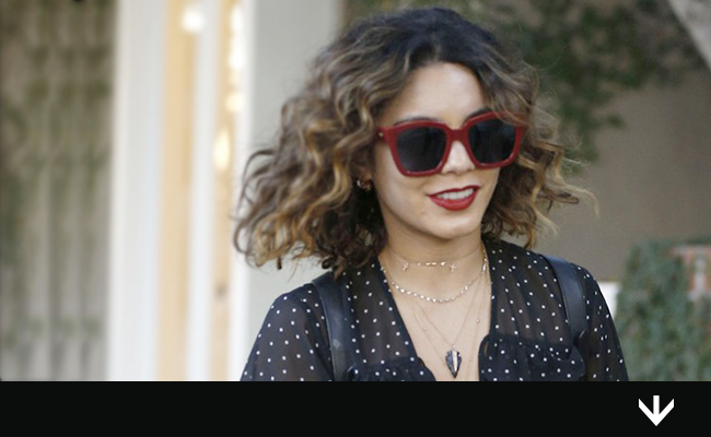 Vanessa Hudgens, star of Spring Breakers, wears PERVERSE sunglasses while shopping in Los Angeles.