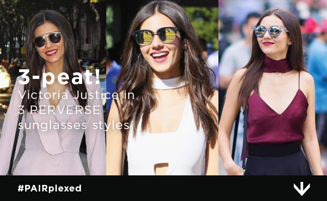 Victoria Justice works it in PERVERSE all week long