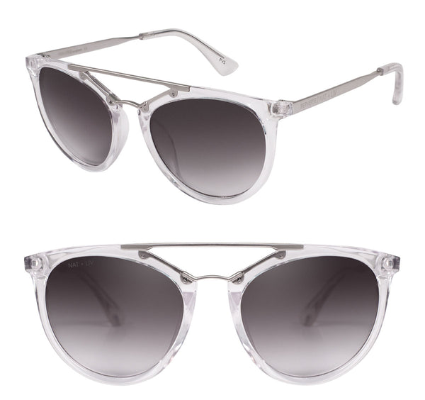 Karolina Kurkova in Crystal by PERVERSE & Nat + Liv limited edition sunglasses capsule collection