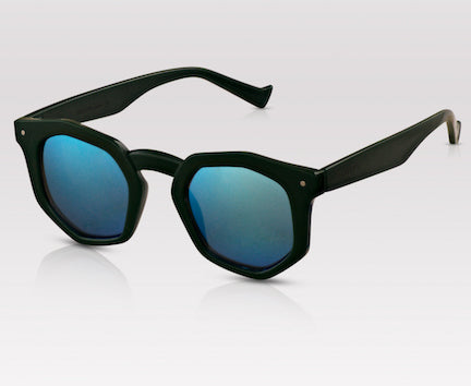 New York Fashion Week sunglasses PERVERSE sunglasses Duke geometric mirror sunglasses