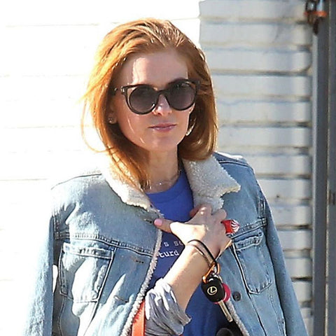 Isla Fisher sunglasses PERVERSE sunglasses denim jacket Gracias Madre