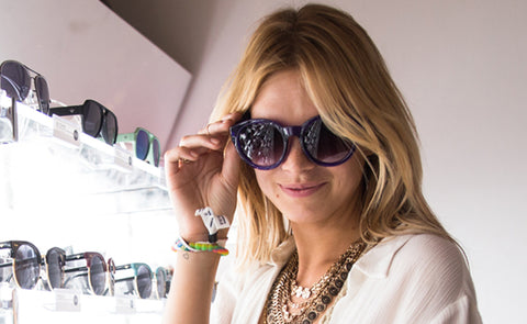 Nadine Leopold Coachella Sunglasses PERVERSE Pretty In Purple 03 Royalty