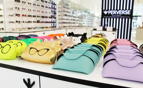 PERVERSE sunglasses store in The Village at Topanga review by the Editorialist L.A.