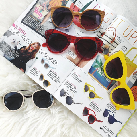 PERVERSE sunglasses founder Toni Ko OK! magazine summer sunglasses