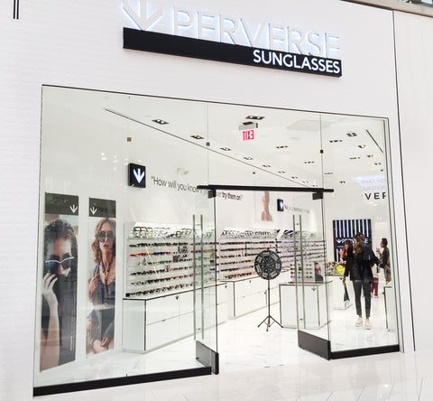 PERVERSE sunglasses open at Westfield Culver City serving Manhattan Beach Playa Del Rey Playa Vista Venice