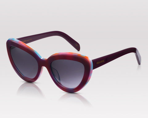 PERVERSE sunglasses that match your Labor Day Destination Ultra acetate cat-eye