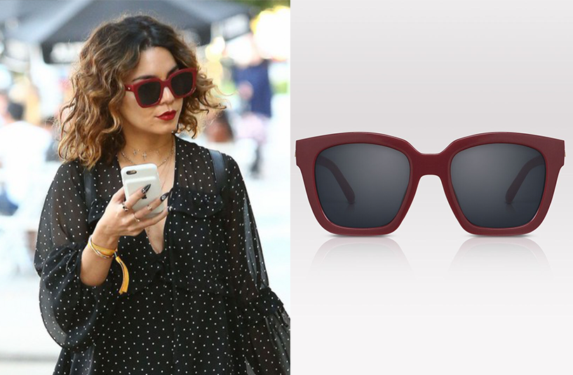 Vanessa Hudgens, star of Spring Breakers and High School Musical, wears PERVERSE sunglasses