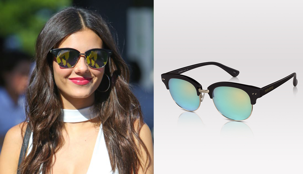 Victoria Justice sunglasses PERVERSE sunglasses Extra TV Rocky Horror Picture Show