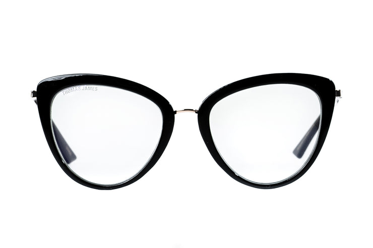Blue Light Blocking Glasses 03 - Black Cat