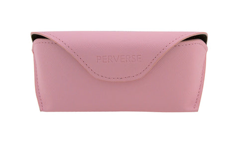 03-Pinkish: Flamingo pink case w/soft black interior.