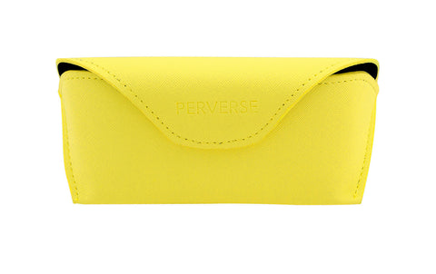 04-Canary: Buttery yellow case w/soft black interior.