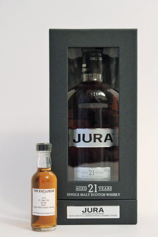 Jura - 21 Years Old - 44.0% - 50ml Sample