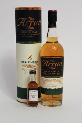 The Arran Malt- Sauternes Cask - 50.0% - 50ml Sample