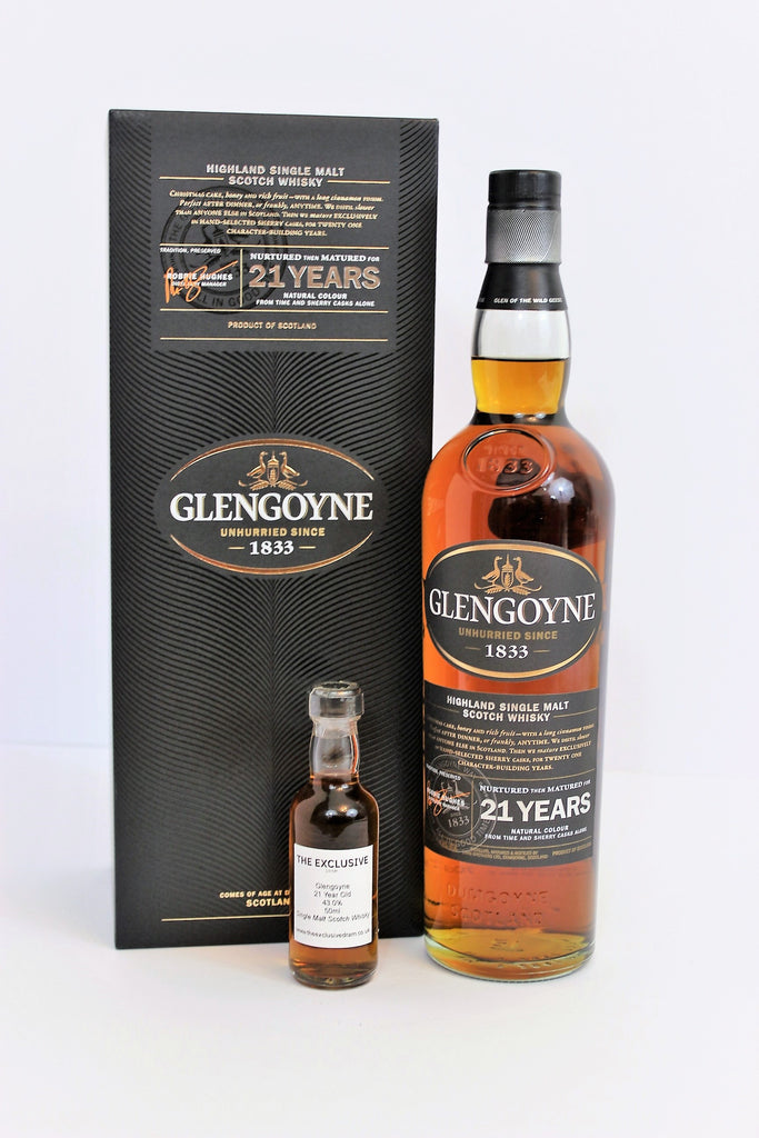 Glengoyne - 21 Year Old - 43.0% - 50ml Sample