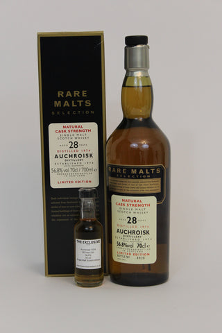 Auchroisk 1974 - 28 Year Old - Rare Malts Selection - 56.8% - 50ml Sample