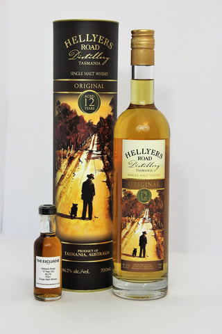 Hellyers Road - 12 Year Old - 46.2% - 50ml Sample