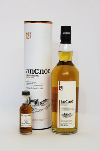 An Cnoc - 12 Year Old - 40.0% - 50ml Sample